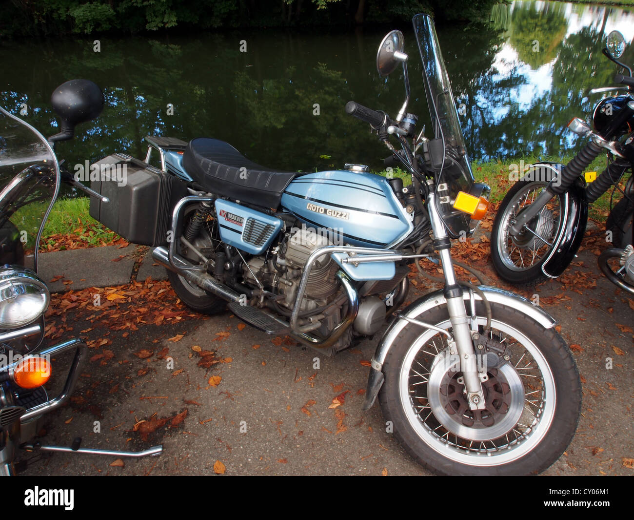 Moto Guzzi V1000 convert - Stock Image