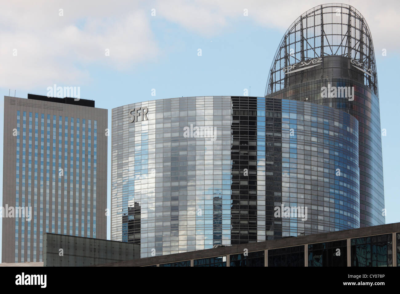 SFR headquarters in Paris - Stock Image