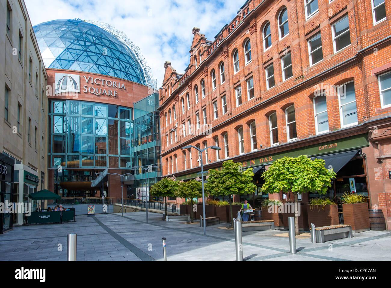 Victoria Square, Belfast, Northern Ireland, United Kingdom, Europe - Stock Image