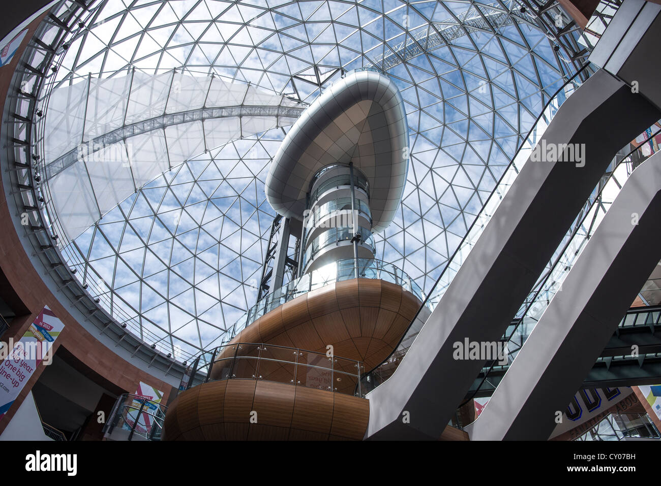 Victoria Square, Belfast, Northern Ireland, United Kingdom, Europe - Stock Image