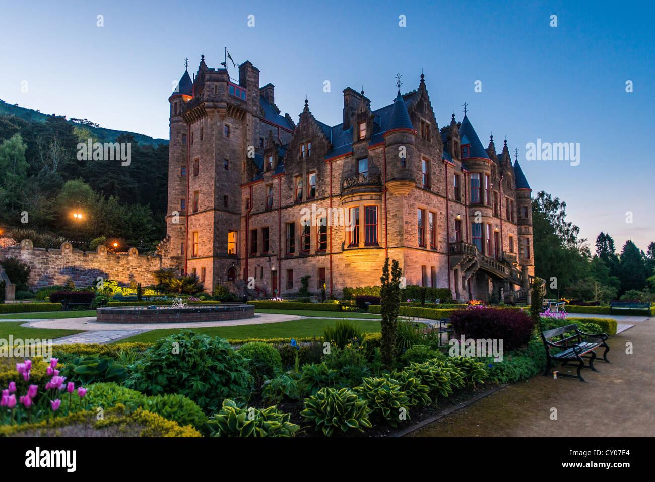 Belfast Castle, Belfast, Northern Ireland, United Kingdom, Europe - Stock Image