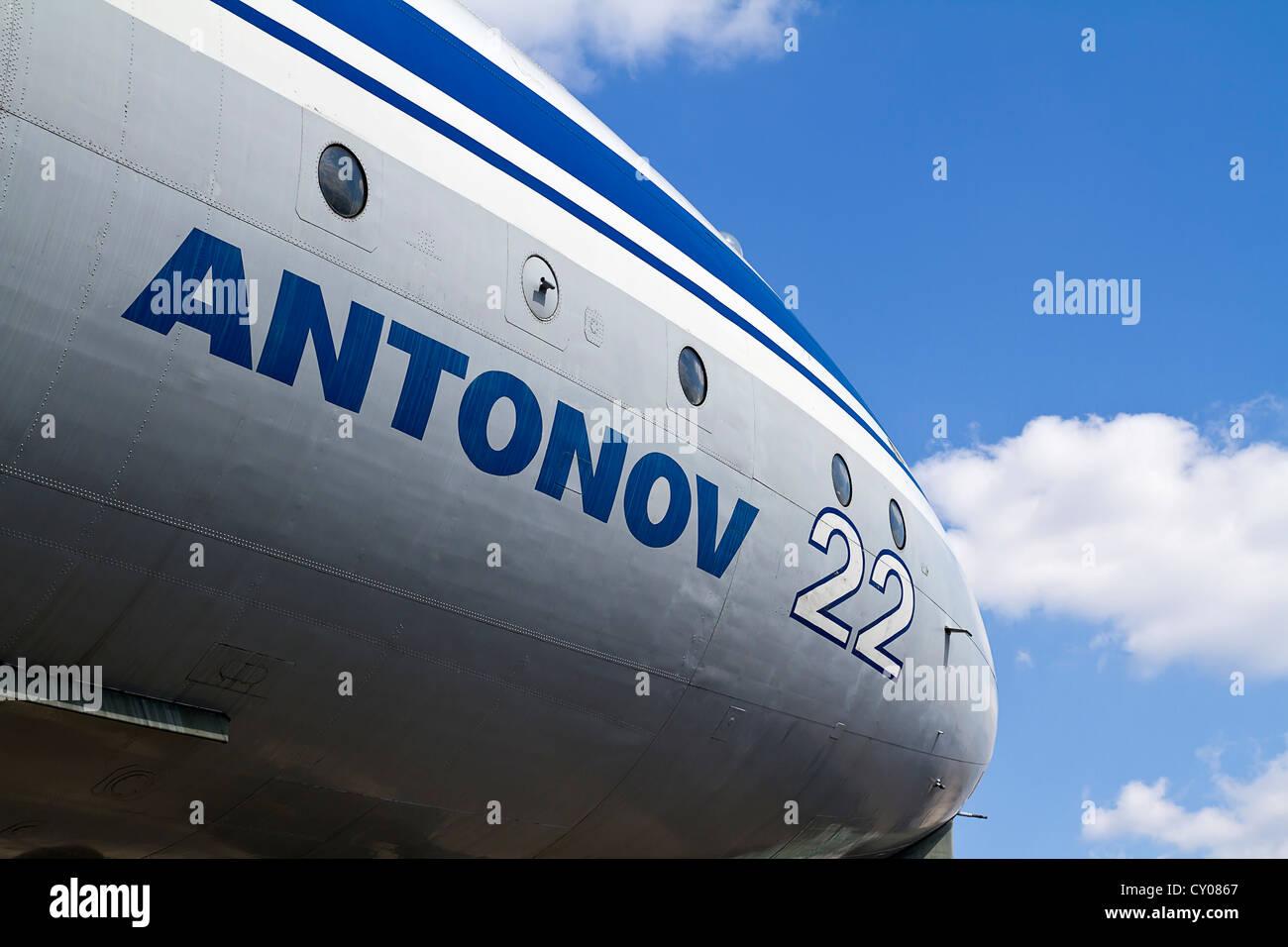 Antonov 22 - Stock Image