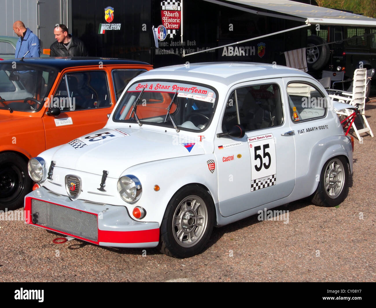 Fiat Abarth 1000 Tc Stock Photos & Fiat Abarth 1000 Tc Stock Images