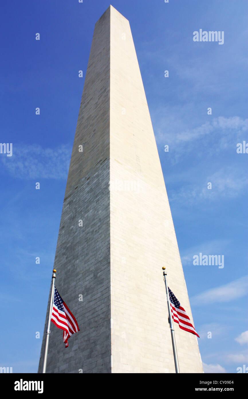 The Washington Monument in Washington DC, USA Stock Photo