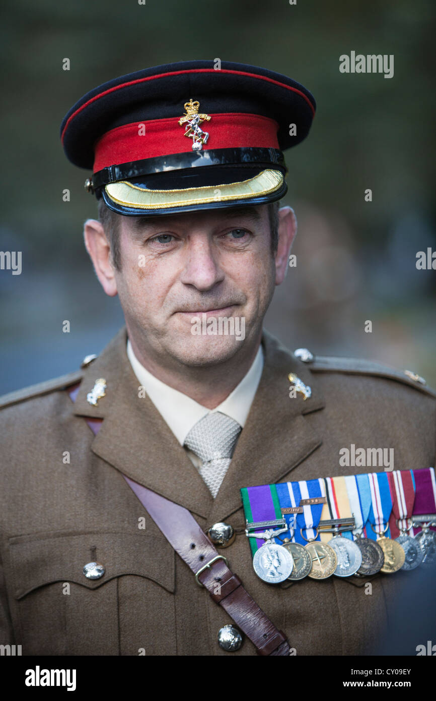 Major Kevin McLoughlin Officer Commanding 1 Field Company 104 Force Support Battalion REME