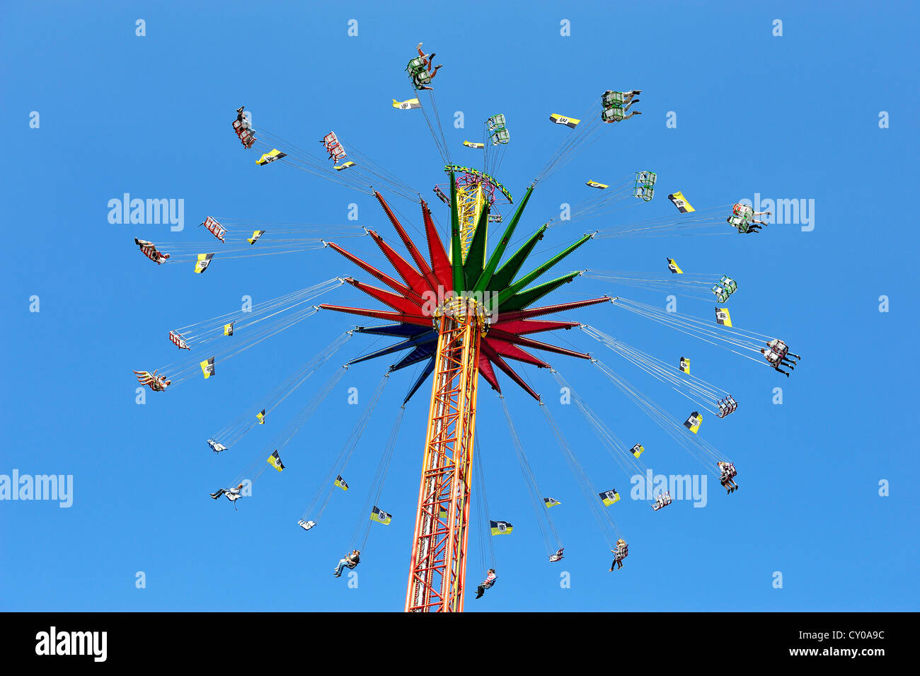 Star Flyer The World S Largest Transportable Chairoplane Or