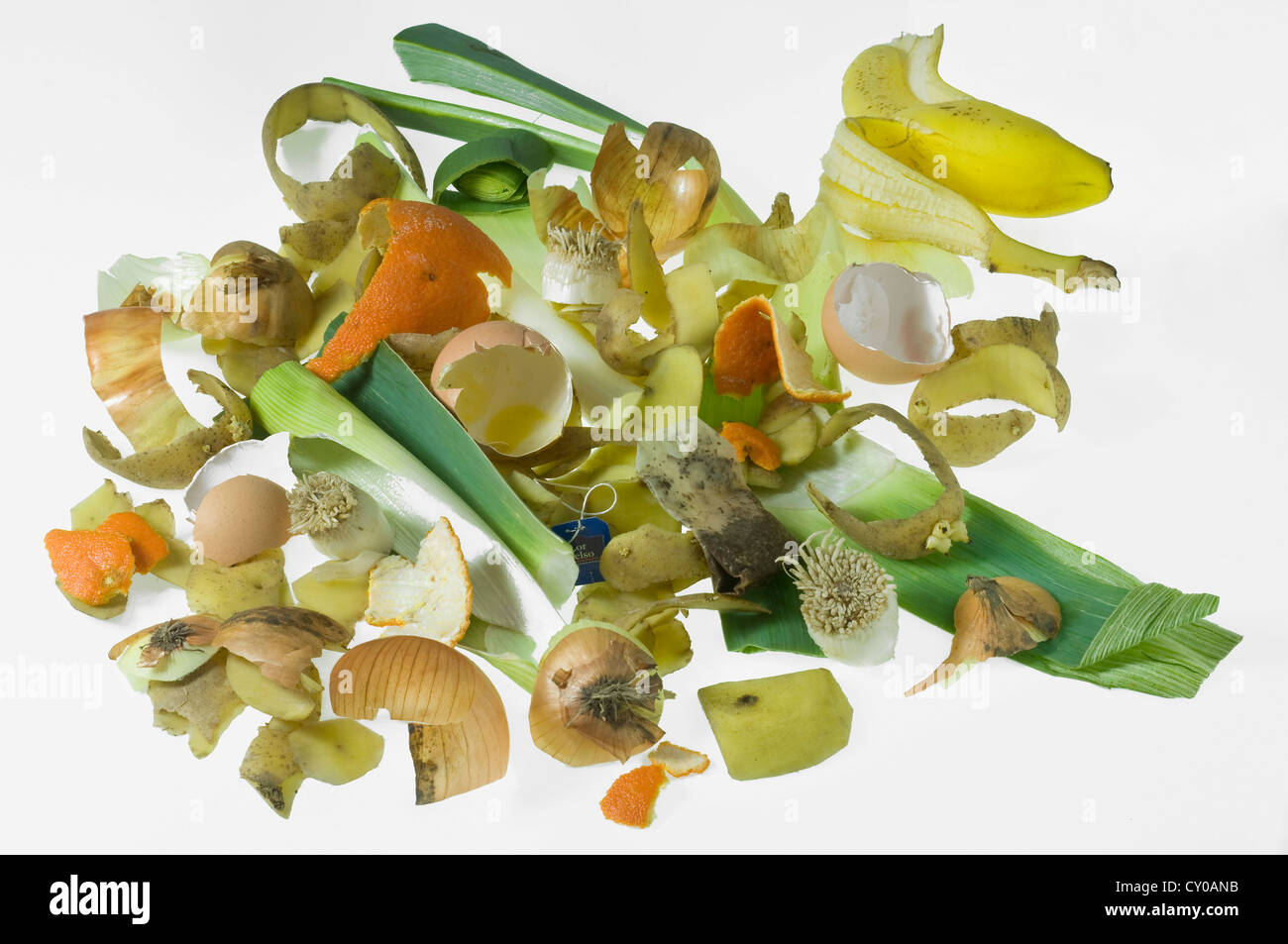 Organic waste - Stock Image