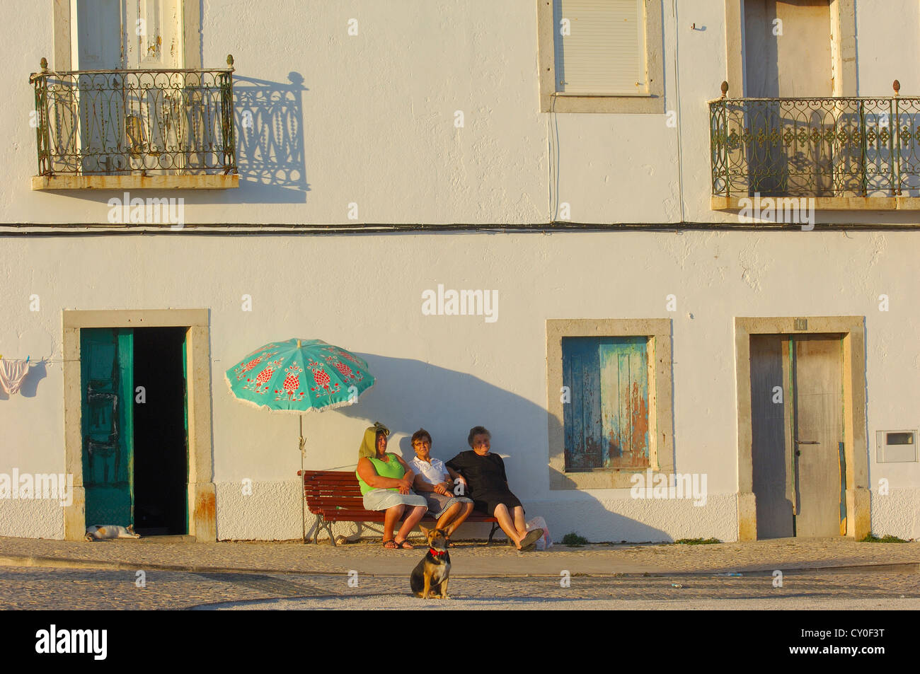Peniche. Leiria district. Atlantic Coast. Estremadura. Portugal. Europe - Stock Image