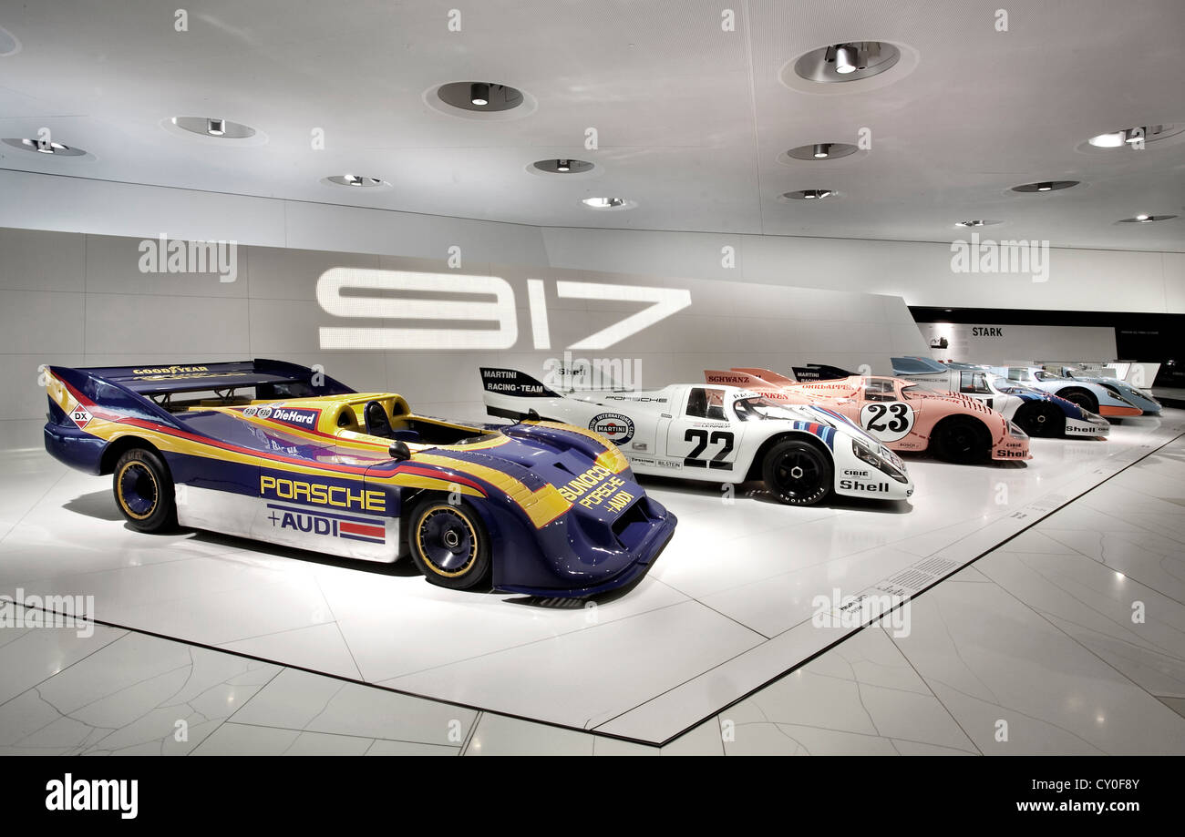 Museo Porsche.Porsche 917 Display In The Of Porsche Museum Suttgart Germany Stock