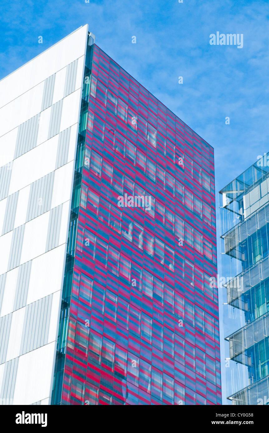 Modern buildings. Madrid, Spain. - Stock Image