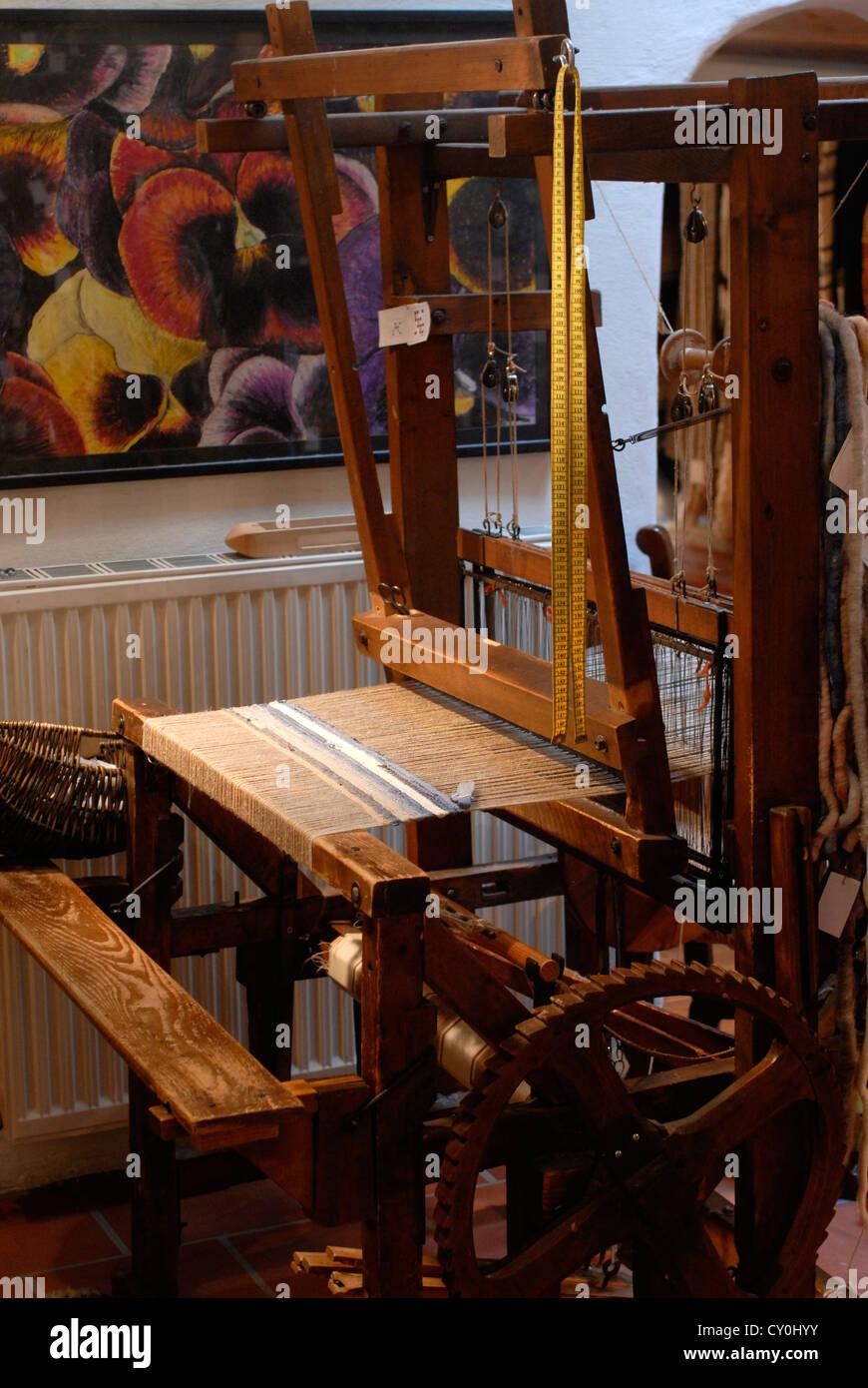 Handcraft,  Getreidegasse,  Rupert, Weiss Factory,  Carpet Shop, Salzburg, Austria,  Europe - Stock Image