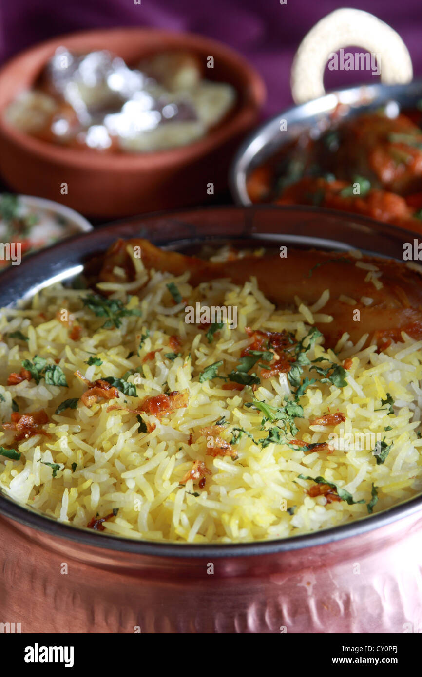 Chicken biryani with kebab platter mixture of north indian non chicken biryani with kebab platter mixture of north indian non vegetarian kebab served to gather with salad forumfinder Image collections