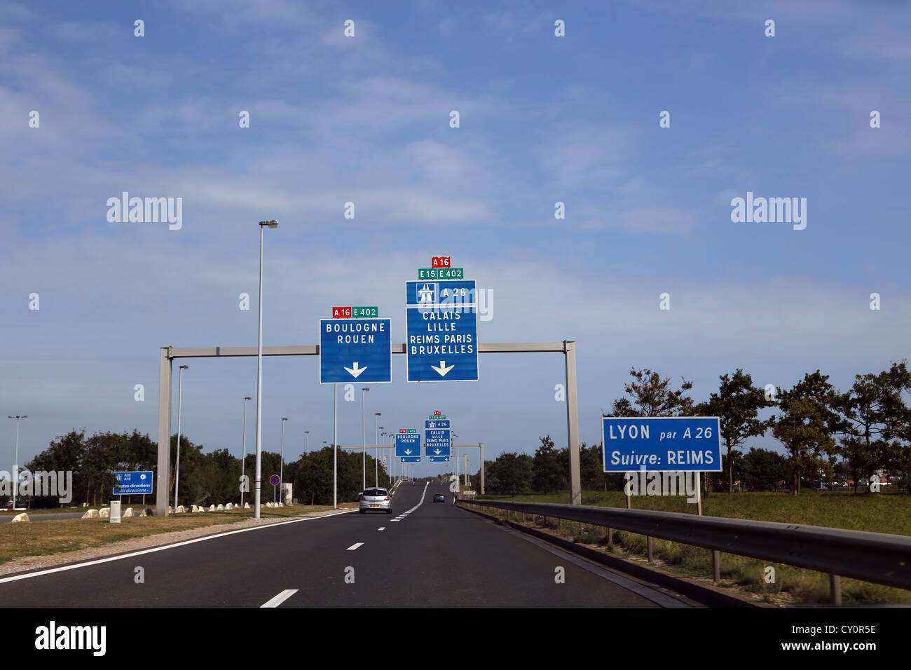 france motorway signs stock photos france motorway signs stock images alamy. Black Bedroom Furniture Sets. Home Design Ideas