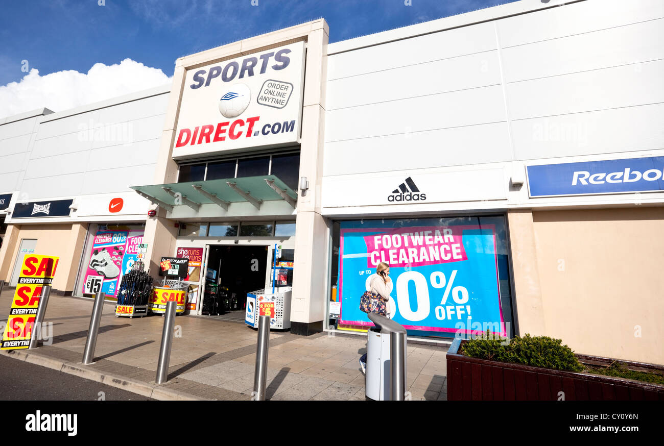 Sports store, Boulevard 25 Shopping Park