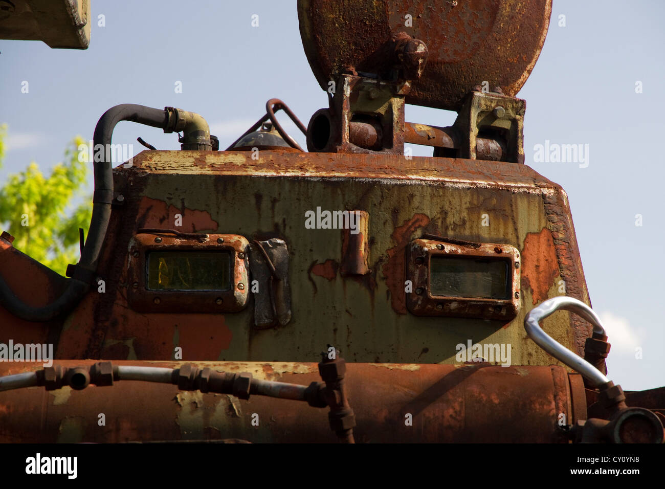 Chernobyl Recovery Equipment Stock Photo