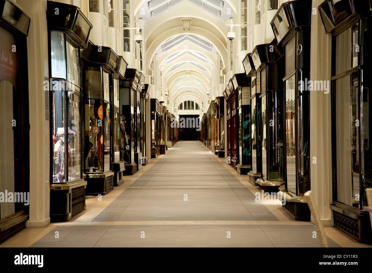 Burlington arcade Picadilly London - Stock Image