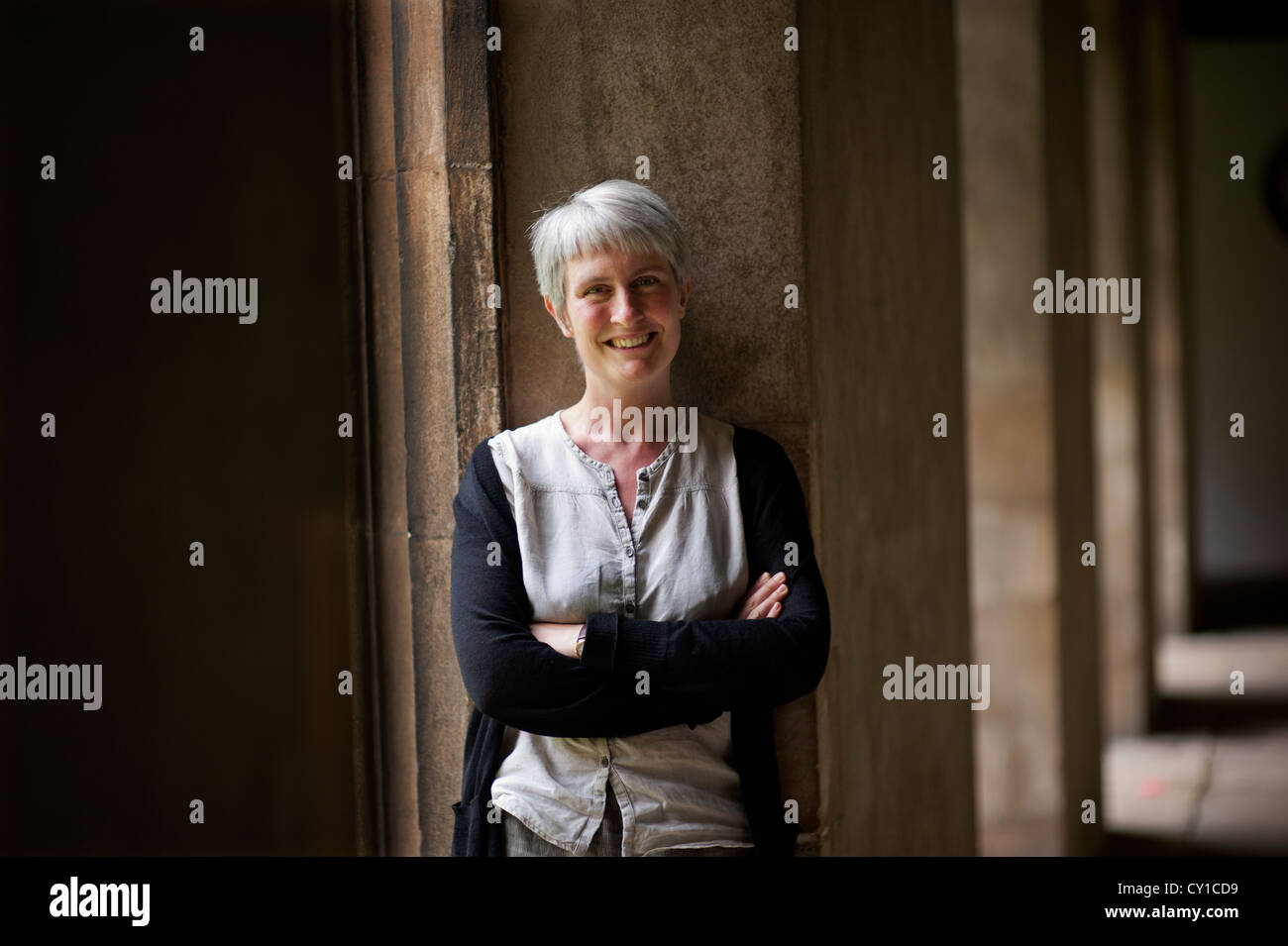 Dr Mary Laven, Senior Lecturer in the faculty of History at Jesus College, Cambridge University, England, UK. - Stock Image
