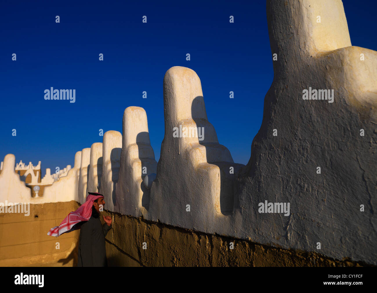 Najran Mud Fort, Saudi Arabia - Stock Image