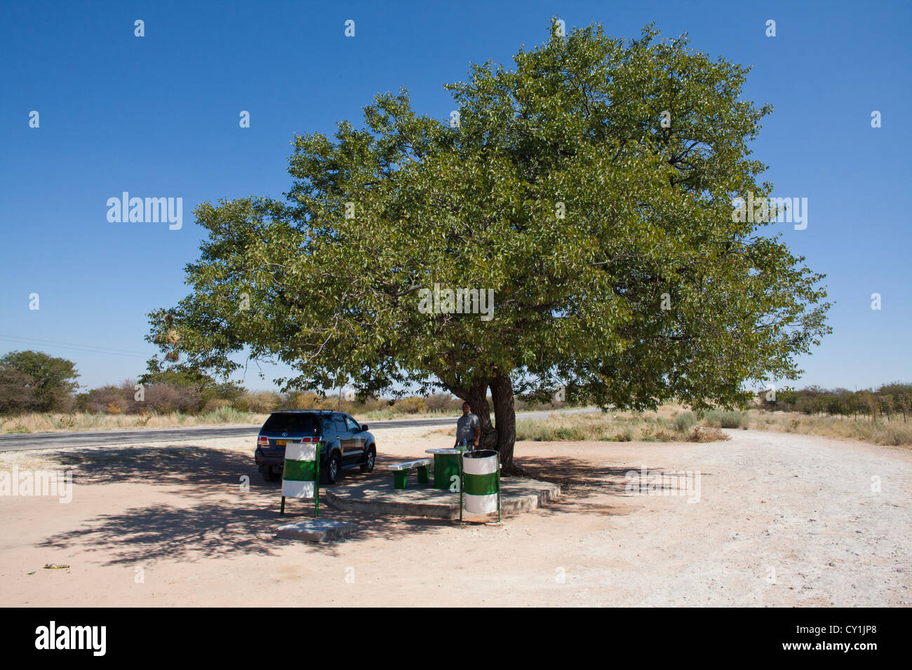 resting place north of windhoek - Stock Image