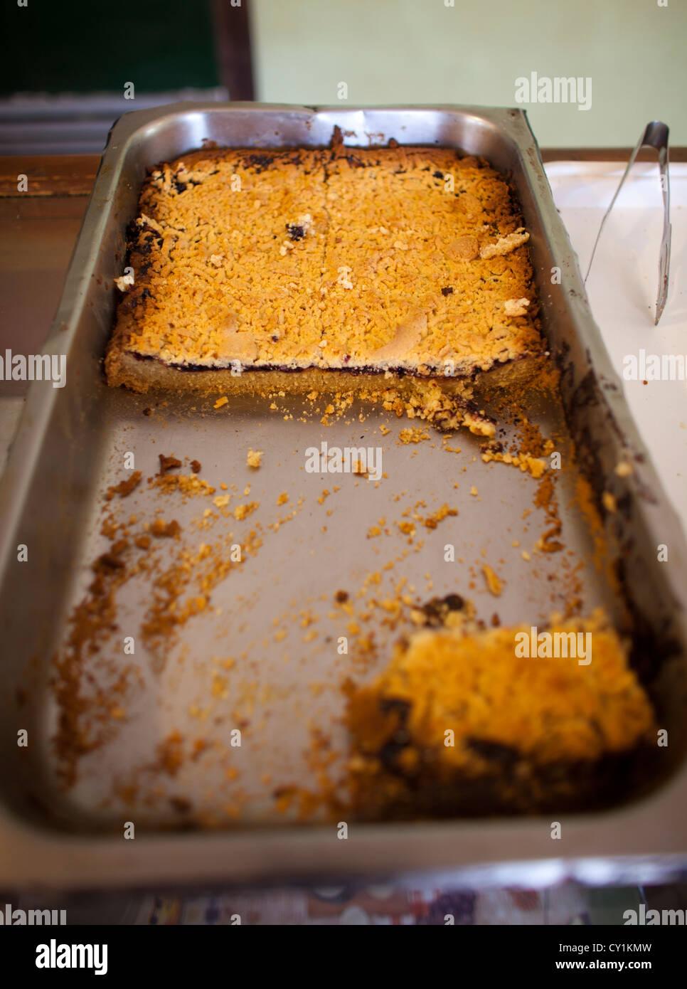 apple pie in solitair bakery, solitair, namibia - Stock Image