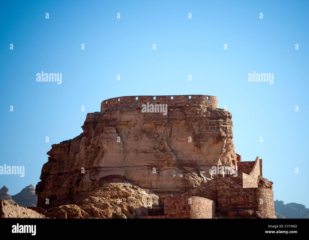 Al Ula Old Fort, Saudi Arabia - Stock Image