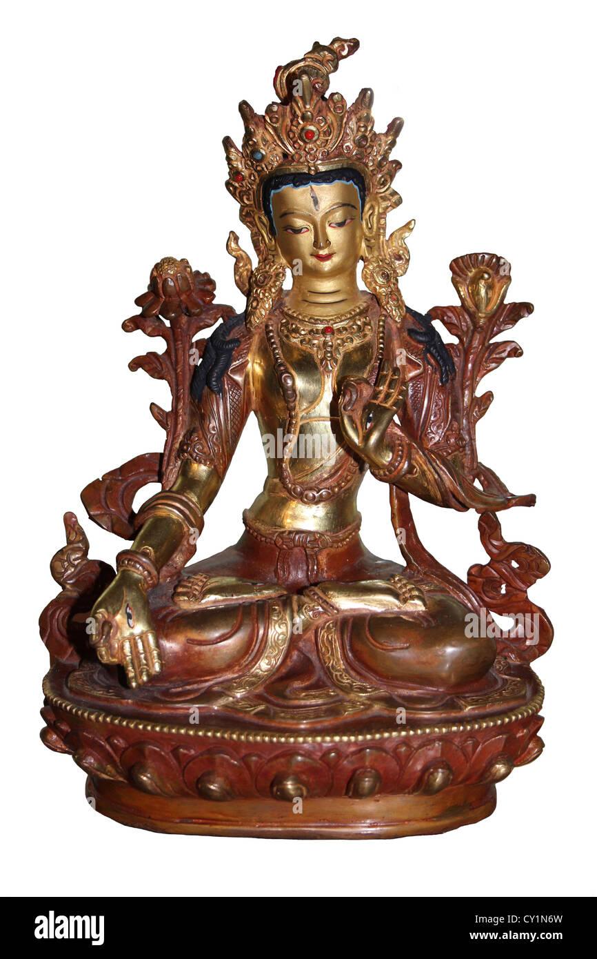 Hindu Goddess Lakshmi - Stock Image