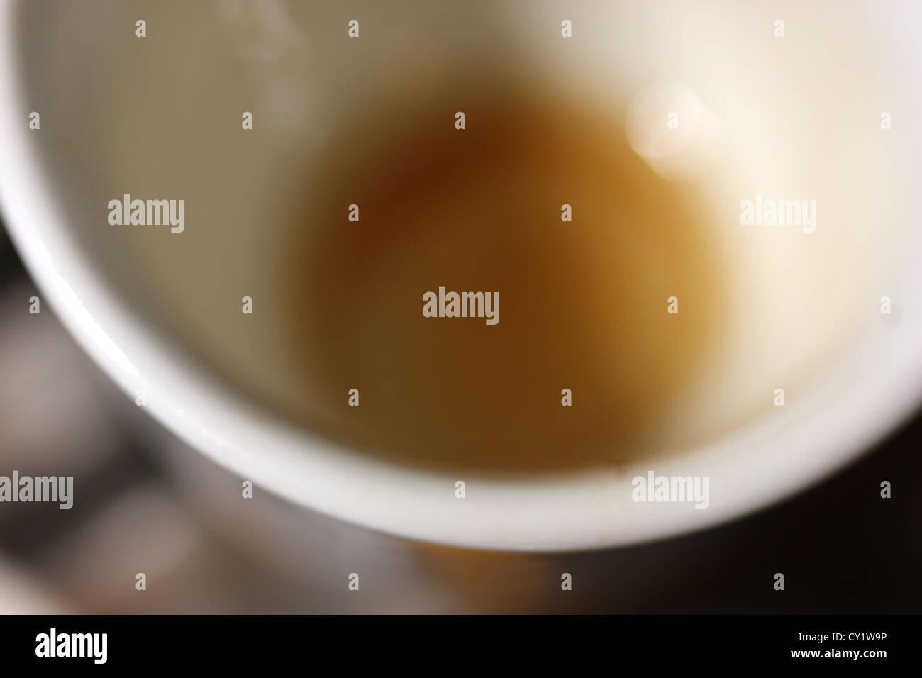 coffee cup detail, photoarkive Stock Photo
