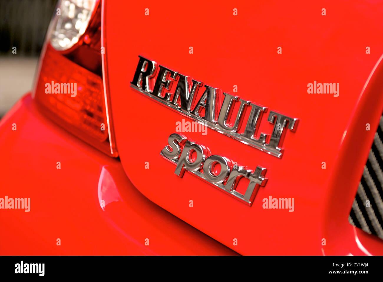 Badge Renault Sports