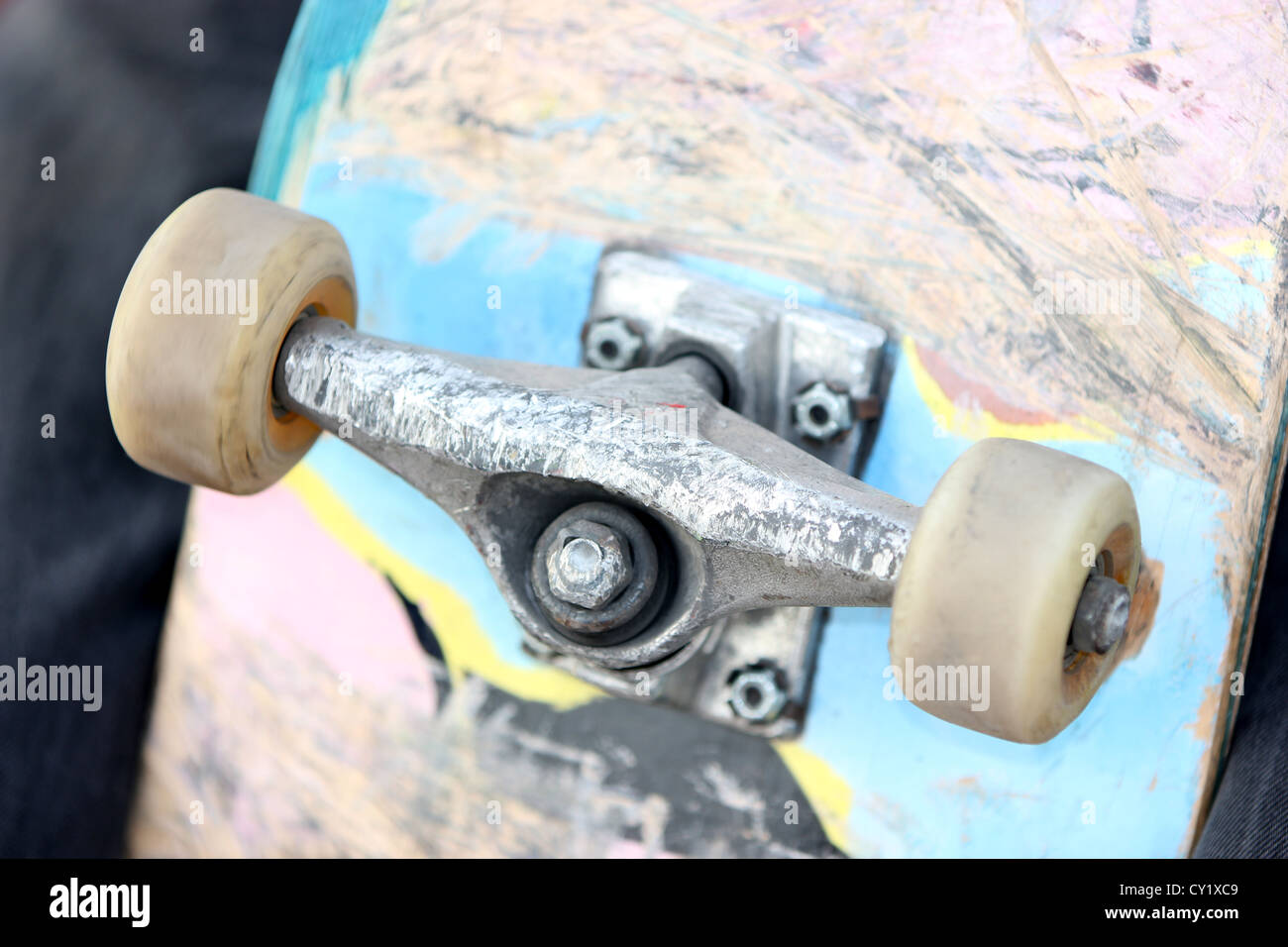 skateboard, outdoor, detail, photoarkive Stock Photo