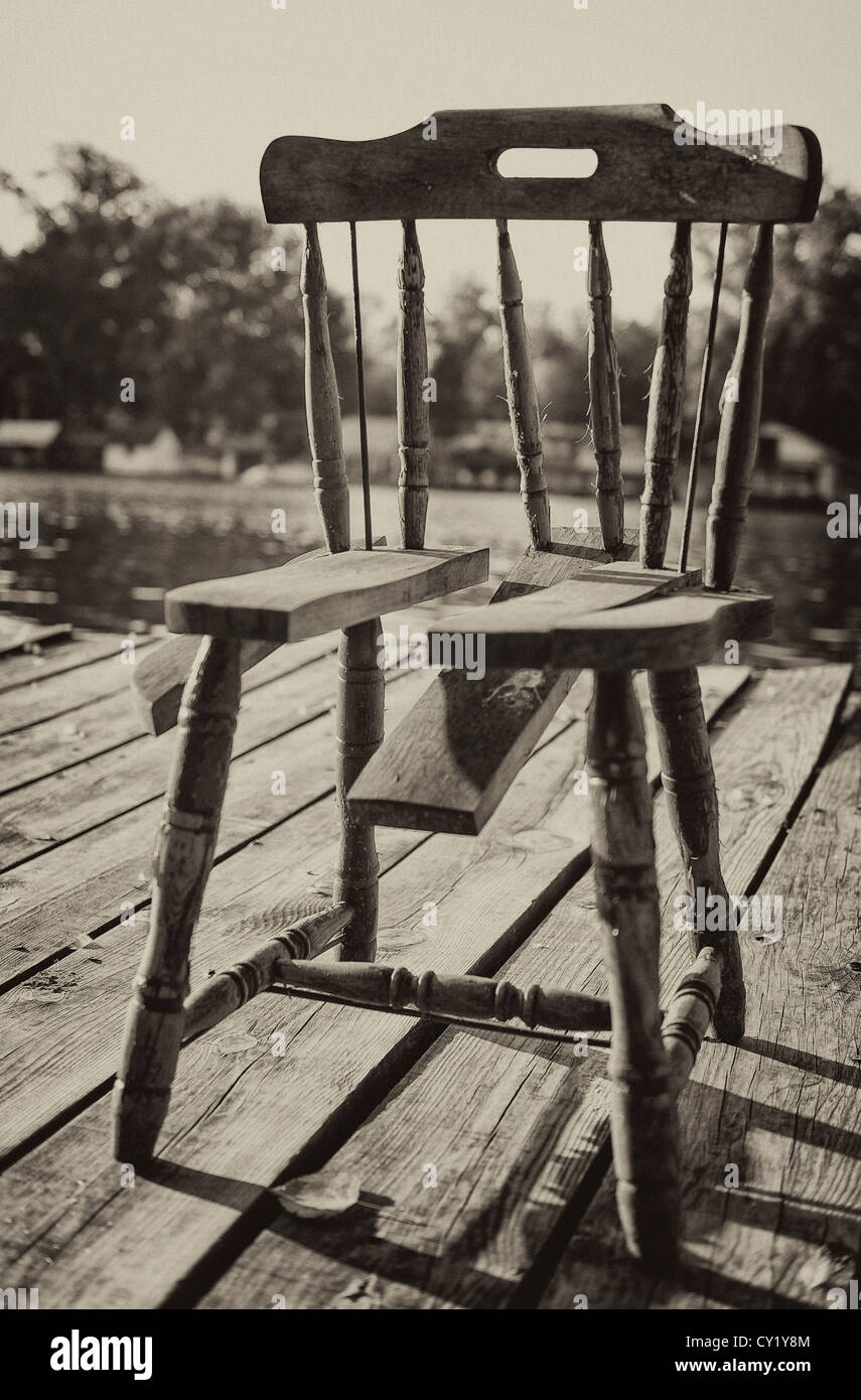 Just A One Old Broken Chair Stock Photo 51059812 Alamy