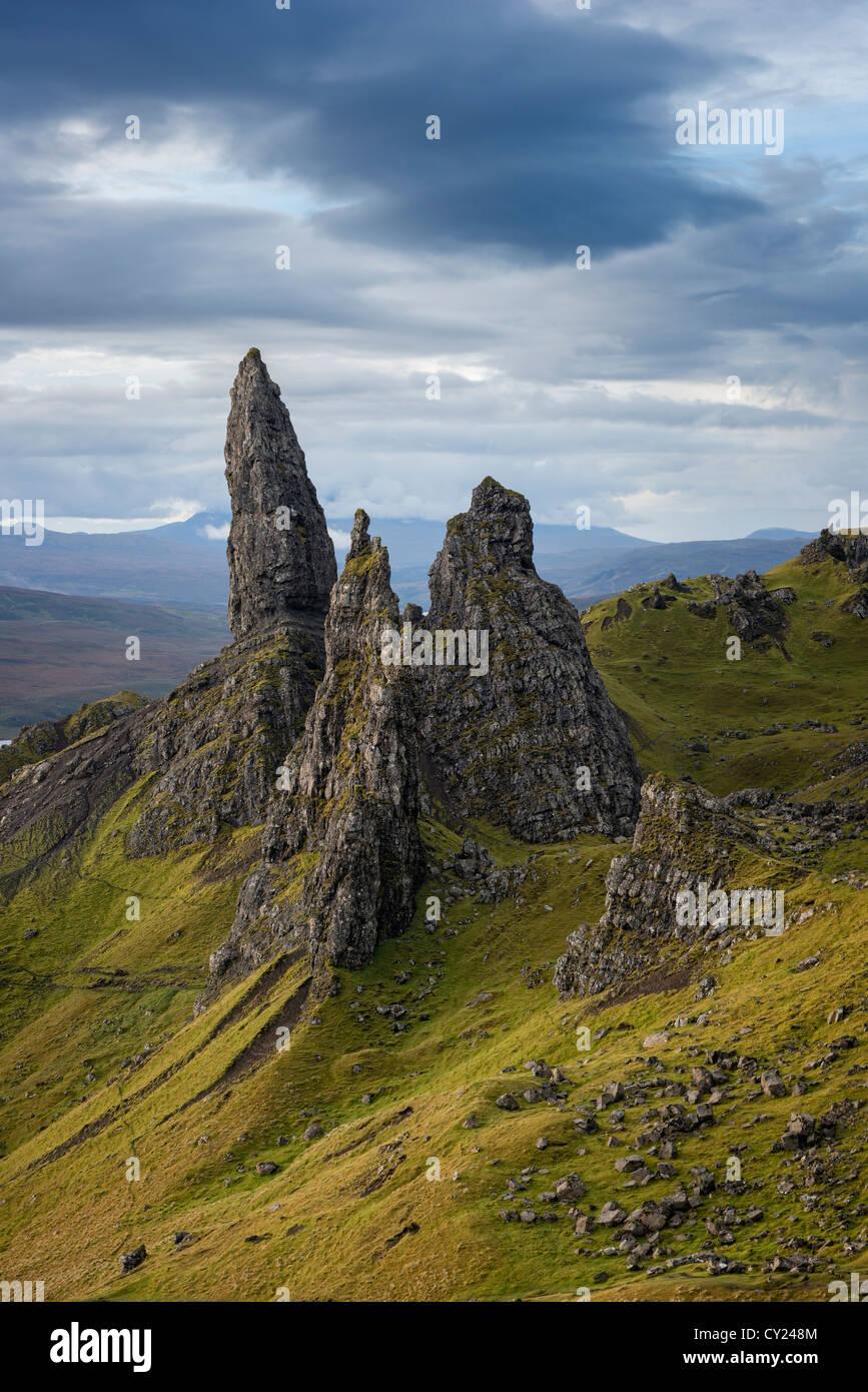 The Storr Isle of Skye - Stock Image