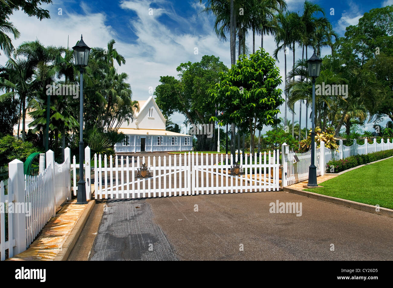 House of Government in Darwin. - Stock Image