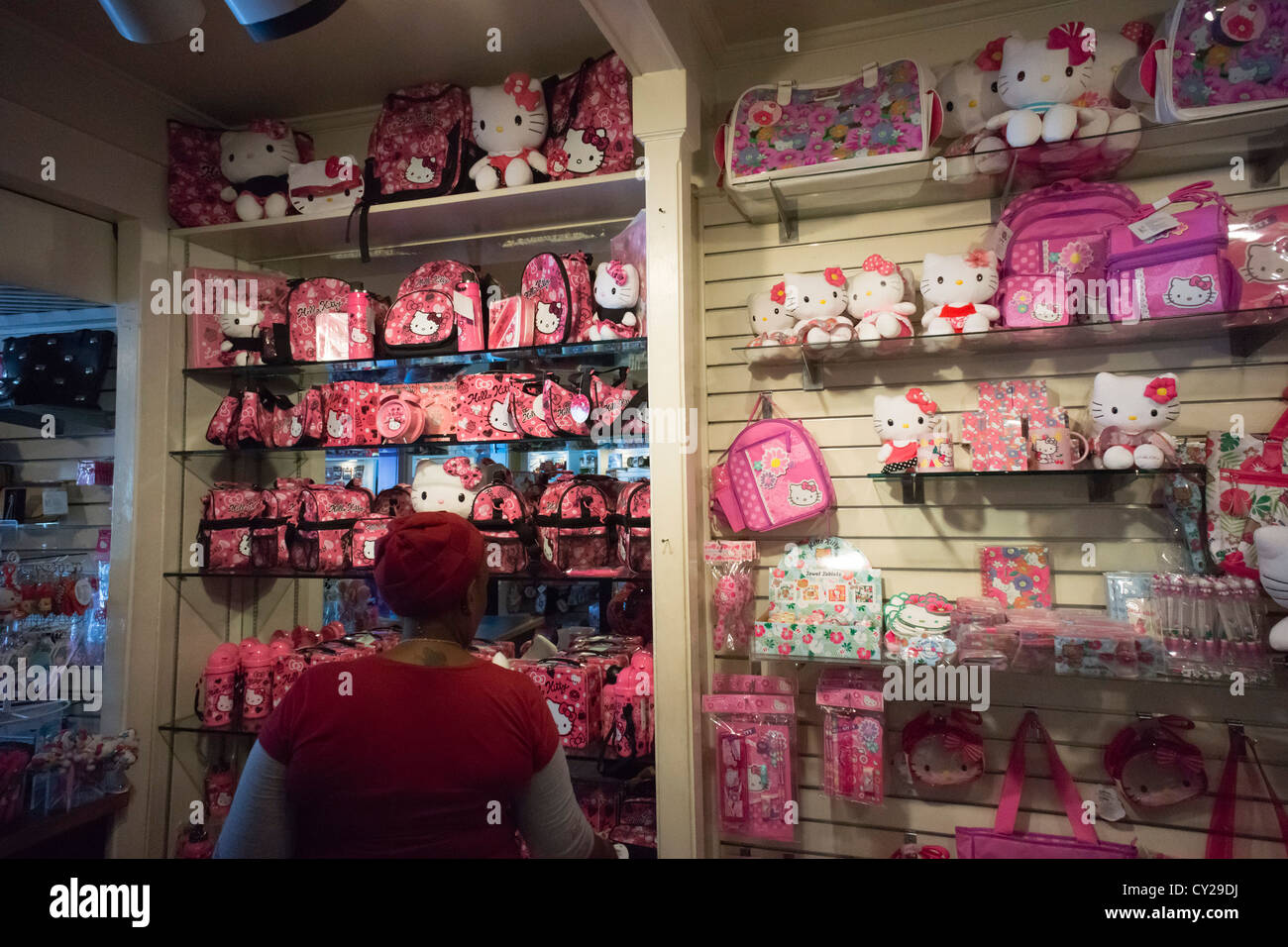 Knotts Berry Farm California Usa Hello Kitty Themed Souvenirs Stock Photo Alamy