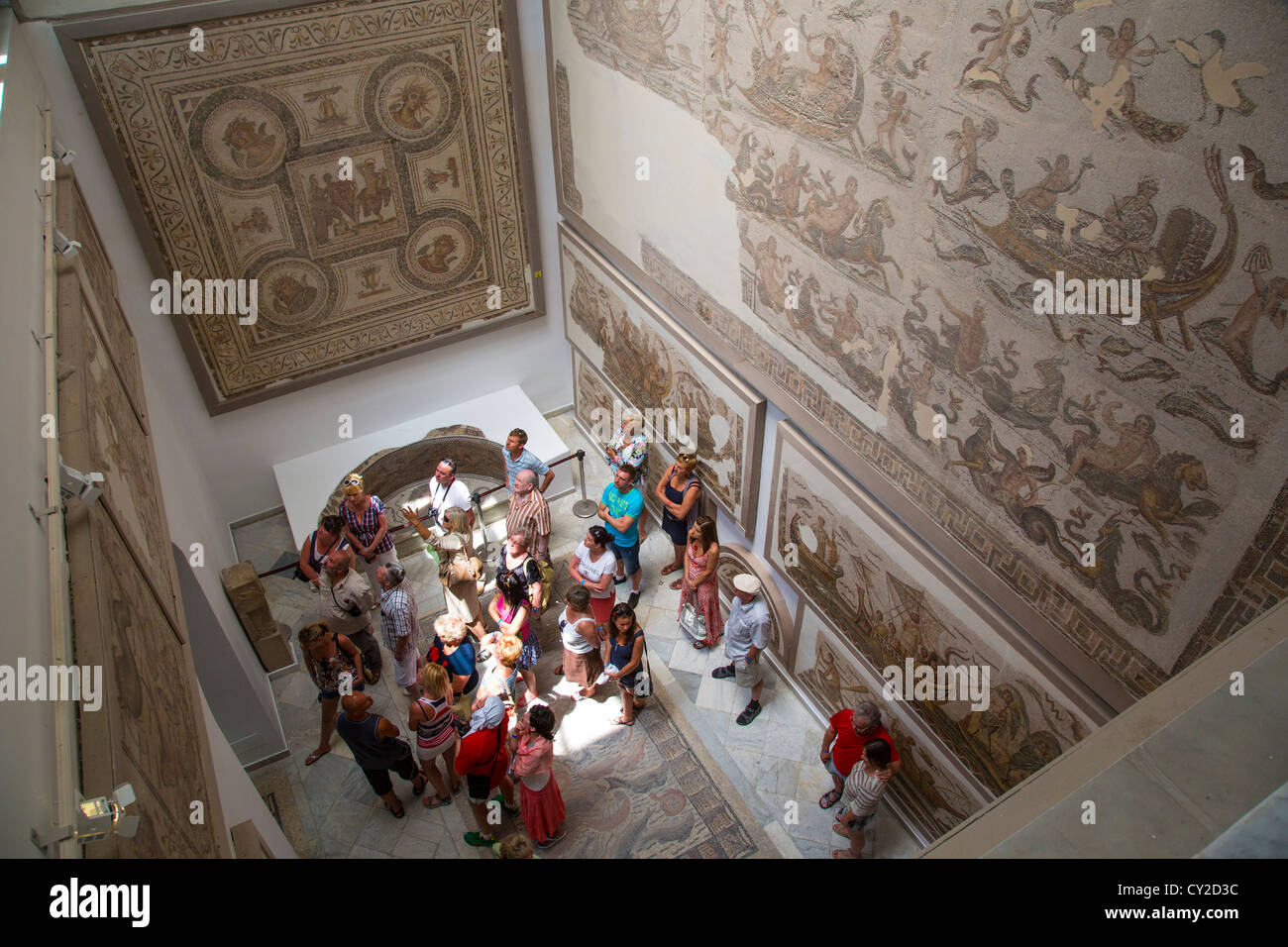 The Bardo Museum in Tunis Tunisia Stock Photo