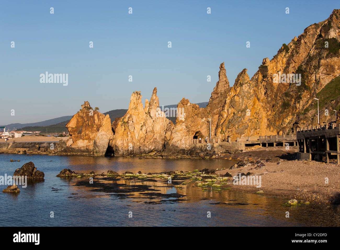 The Needles in Tabarka Tunisia - Stock Image