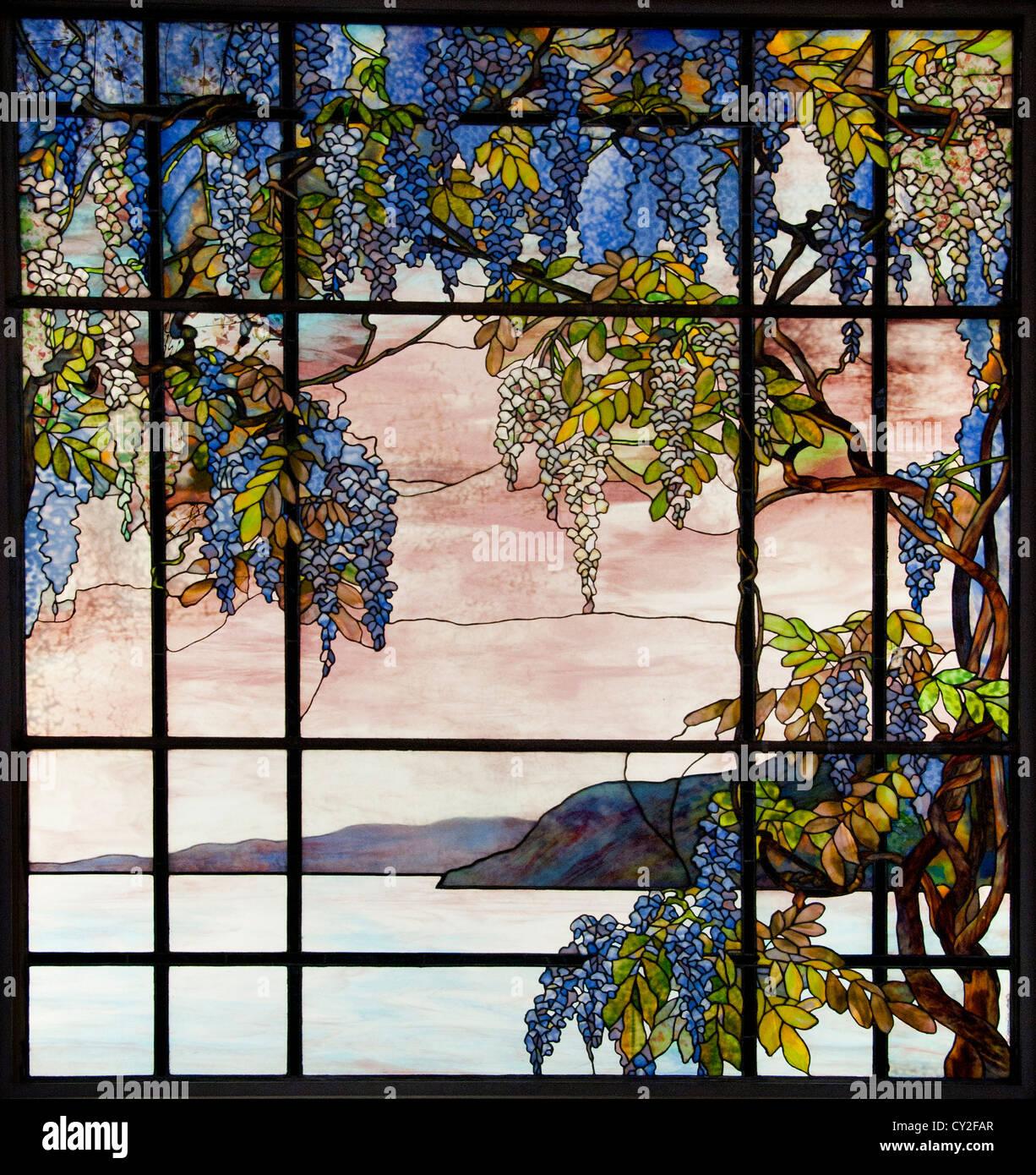 Laurelton Hall Oyster Bay  New York Designed by Louis Comfort Tiffany 1905 United States of America American Fravrile Stock Photo
