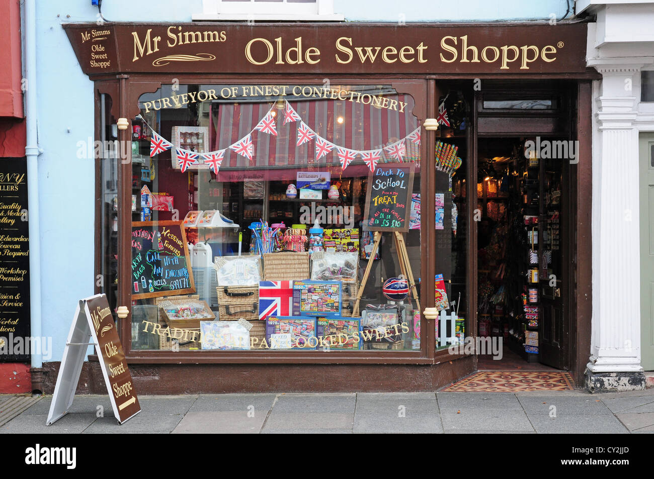 Old Fashioned Candy Store Window