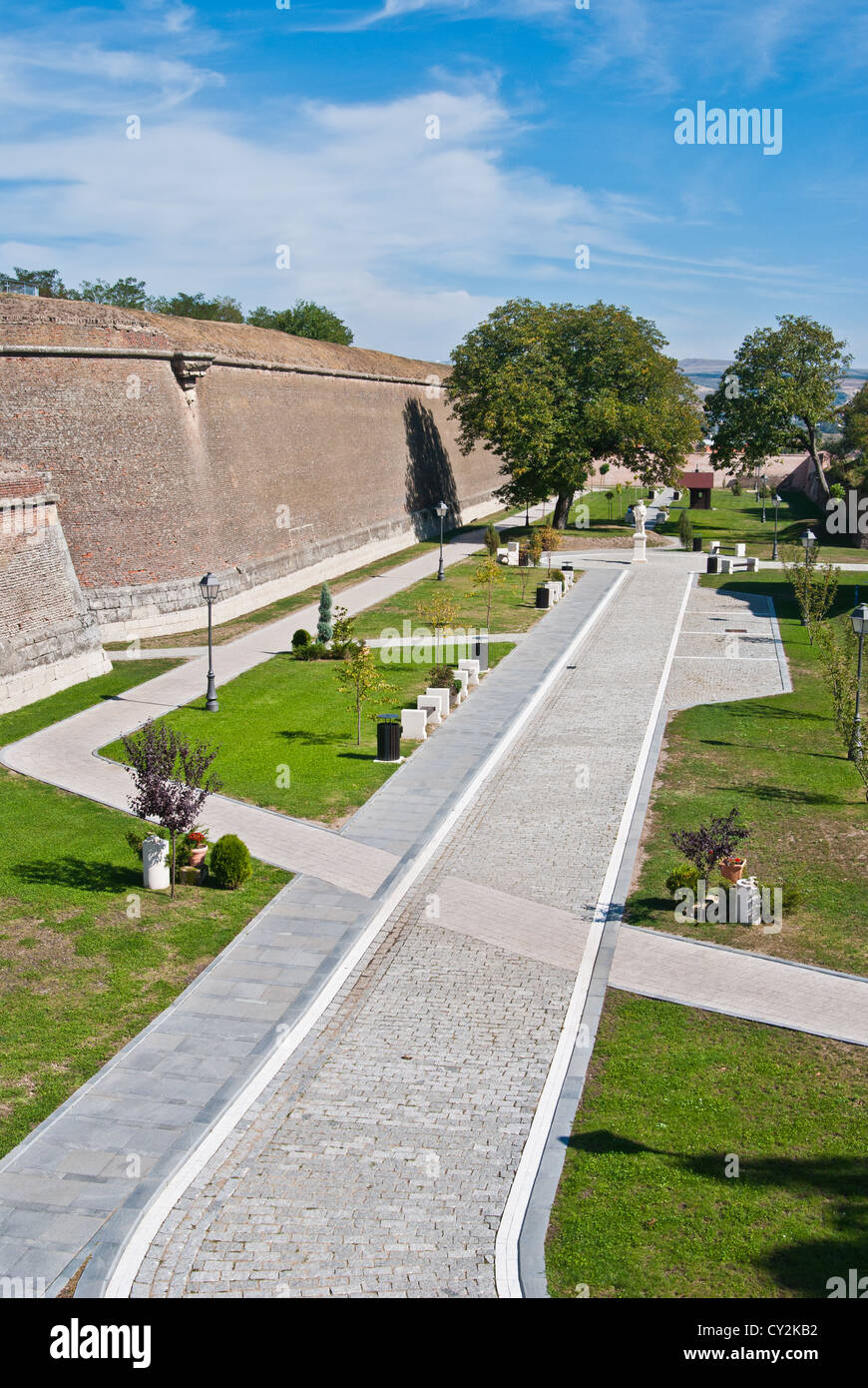 Bastion Citadel of Alba Iulia - Stock Image