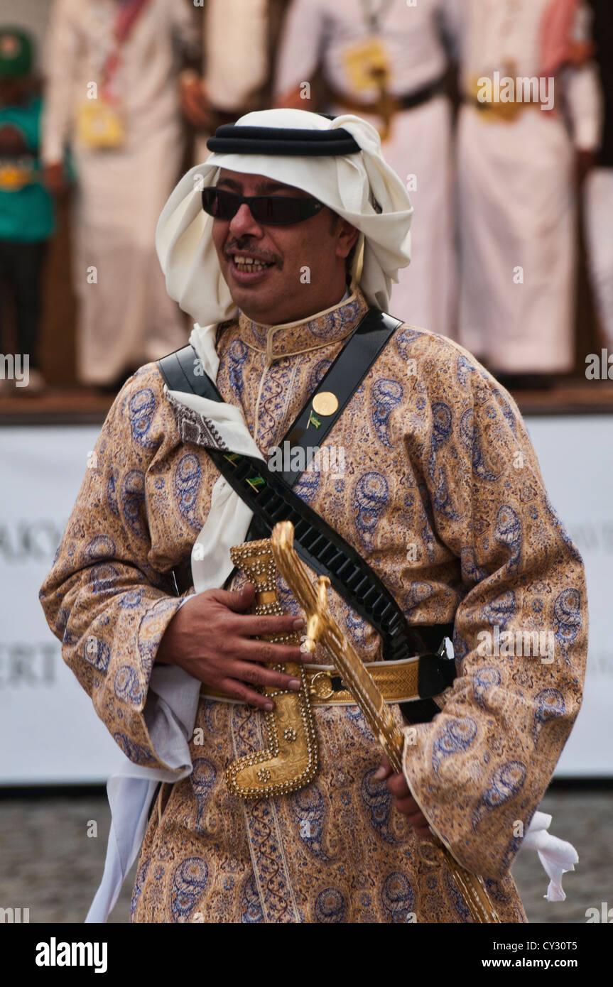 Saudi Arabian man - Stock Image