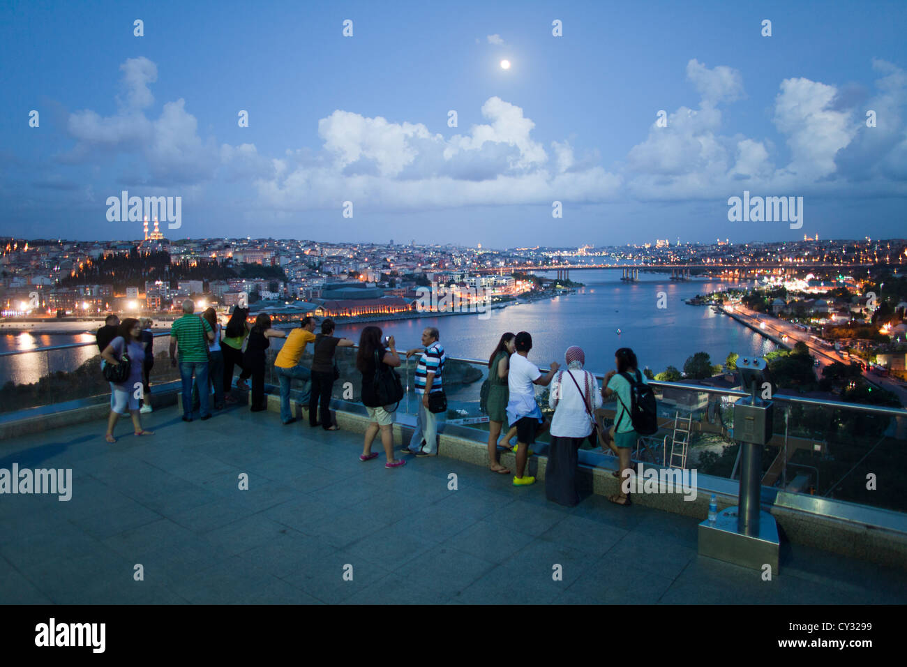 Pierre Loti viewpoint in istanbul - Stock Image