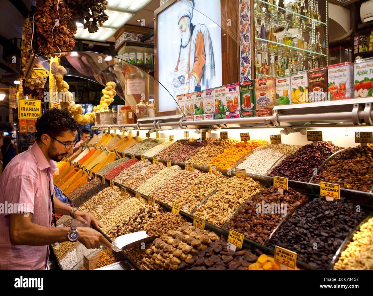 spice market, istanbul Stock Photo