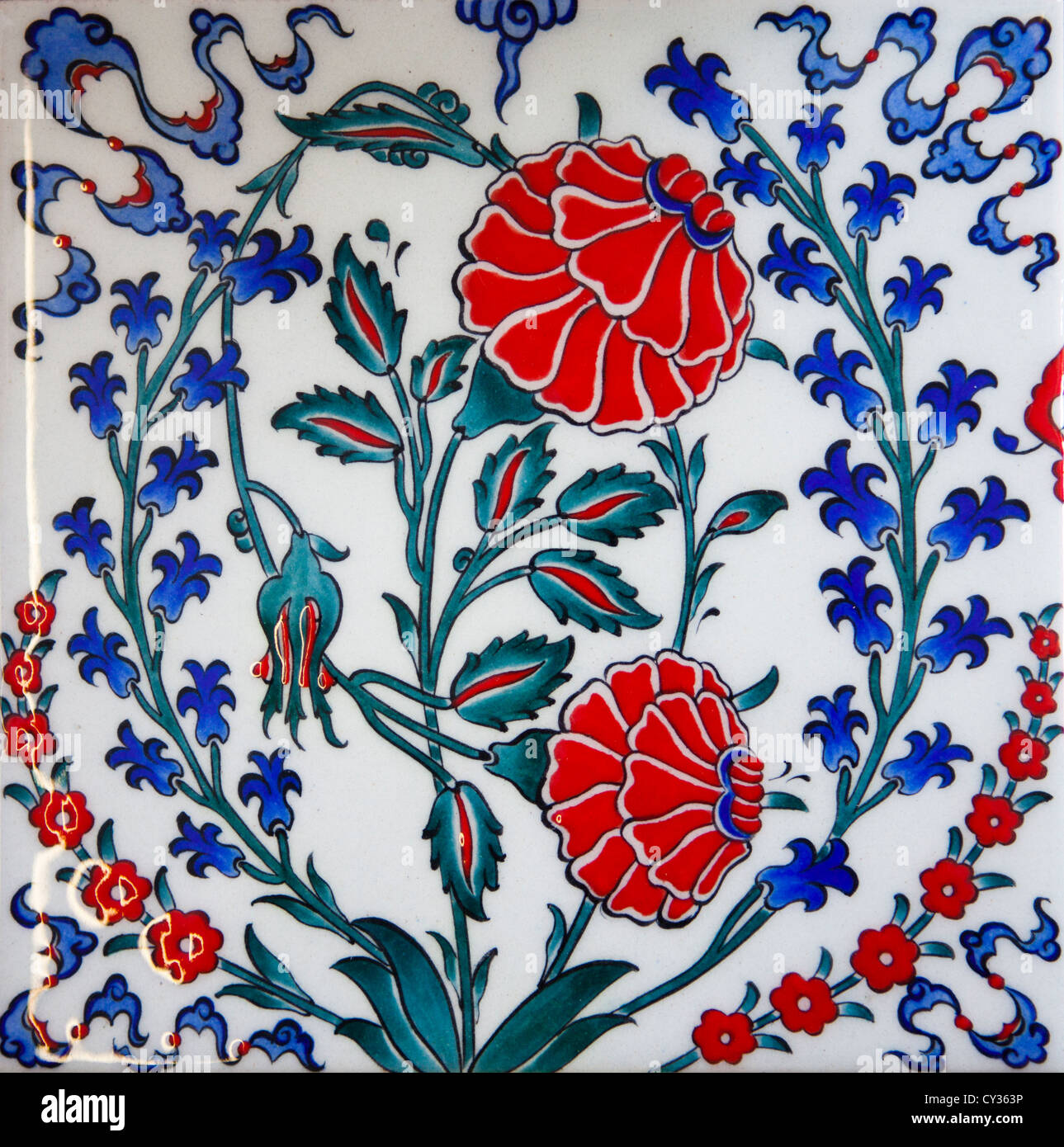 tile making in istanbul - Stock Image