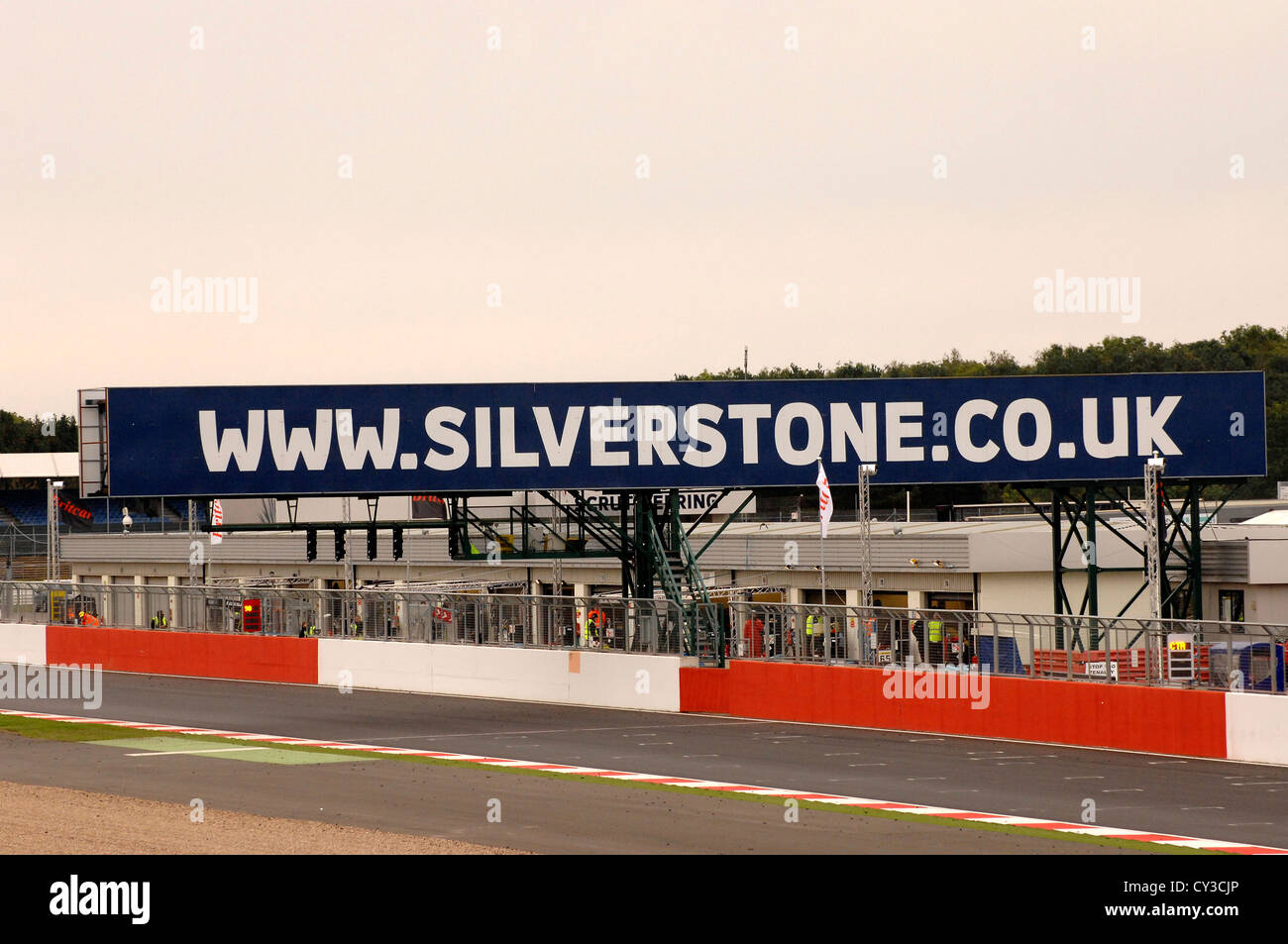 Silverstone race track in Northamptonshire England UK Stock Photo ...