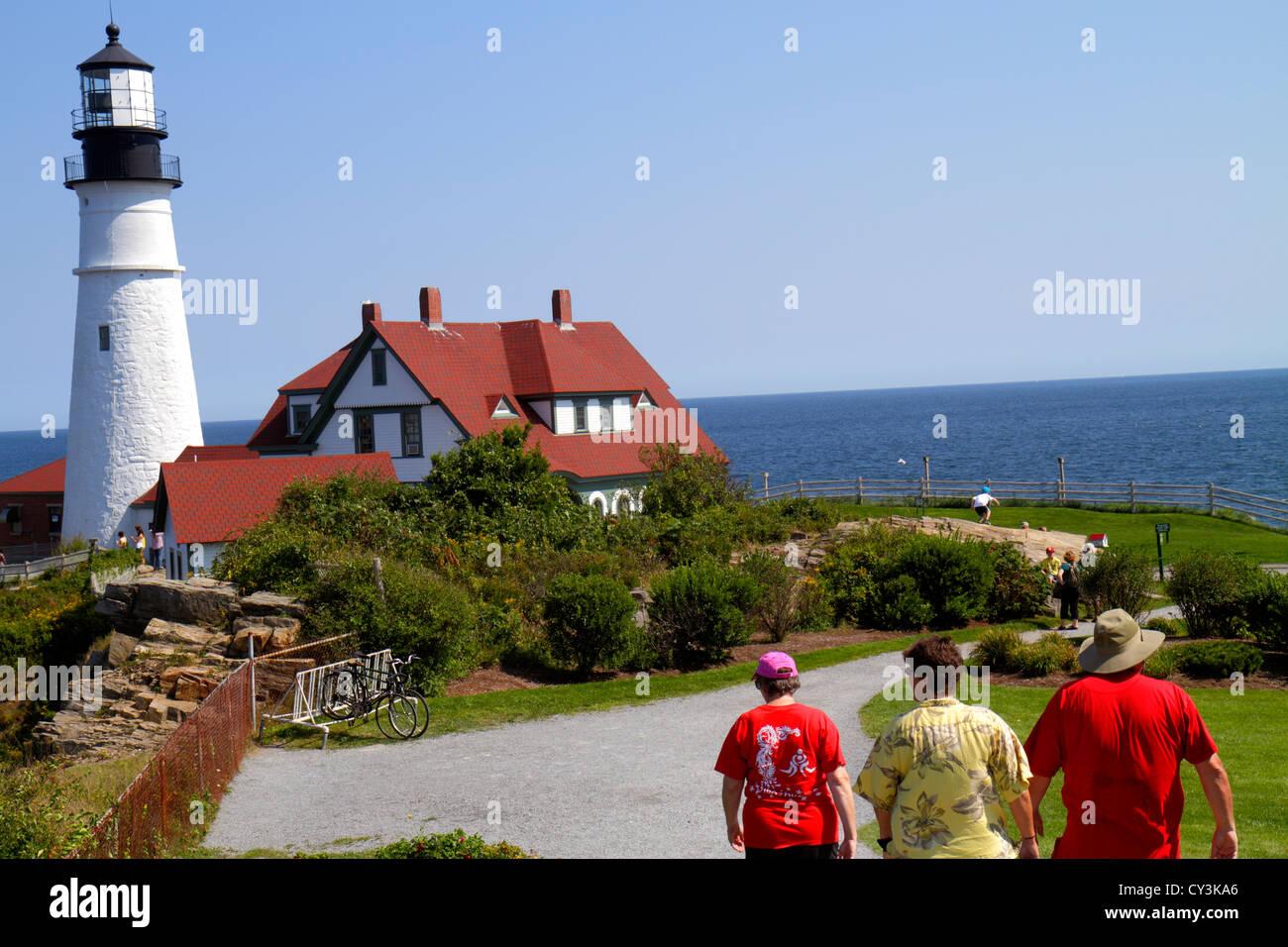 Portland Maine Cape Elizabeth Portland Head Light lighthouse