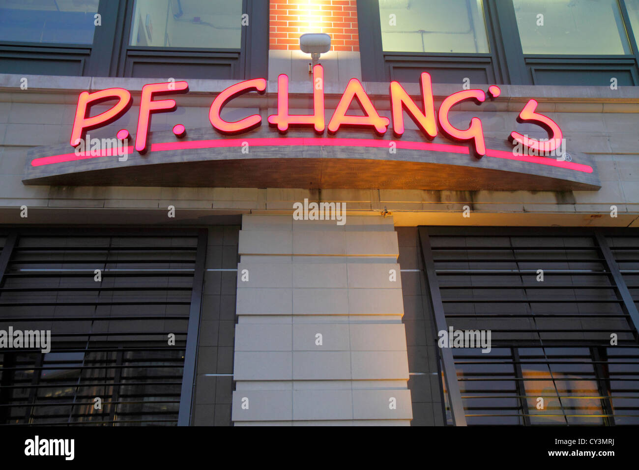 Rhode Island Providence Providence Place Mall P F Chang S