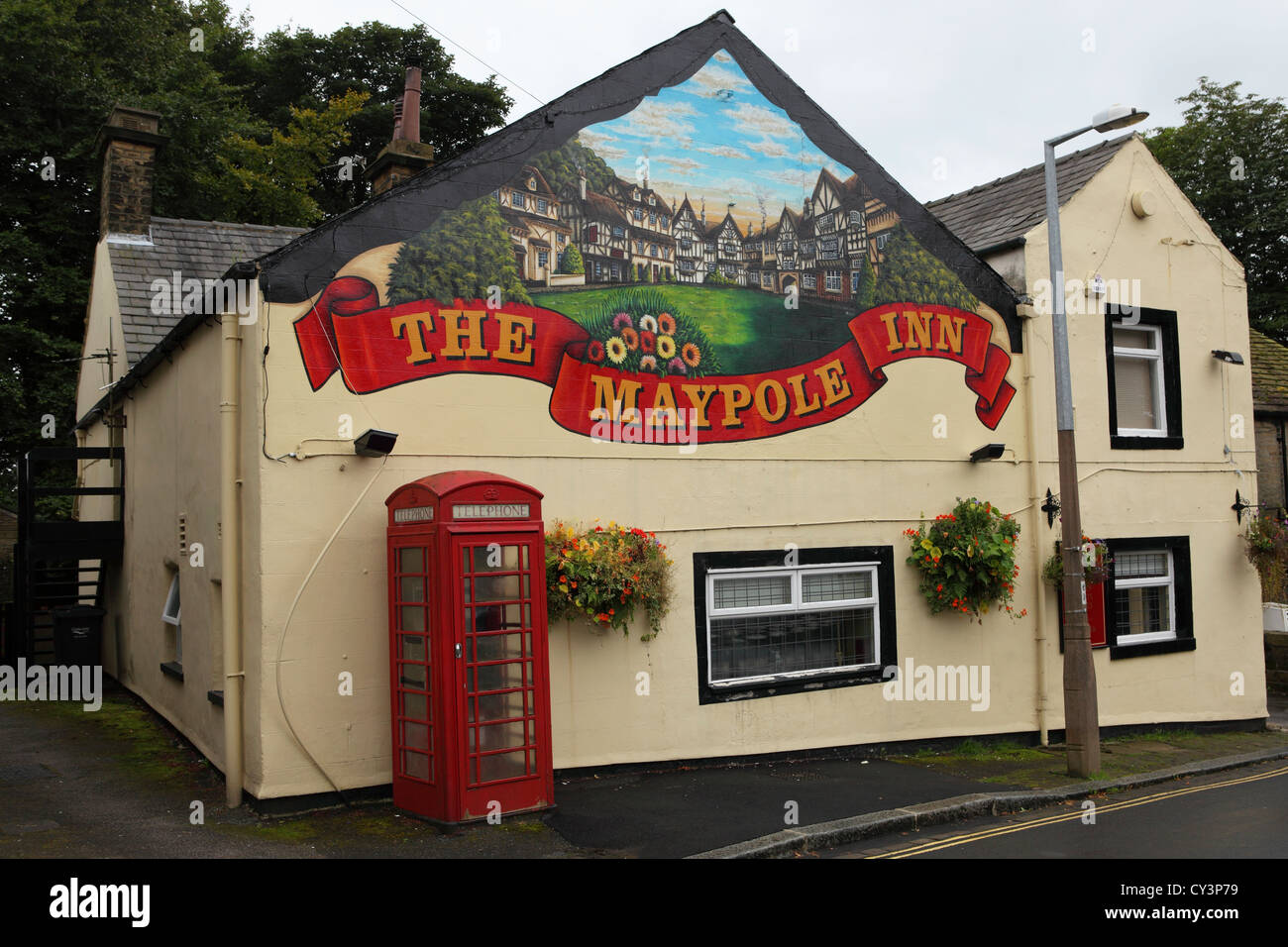 The Maypole Inn at Warley, Halifax, West Yorkshire, England. - Stock Image