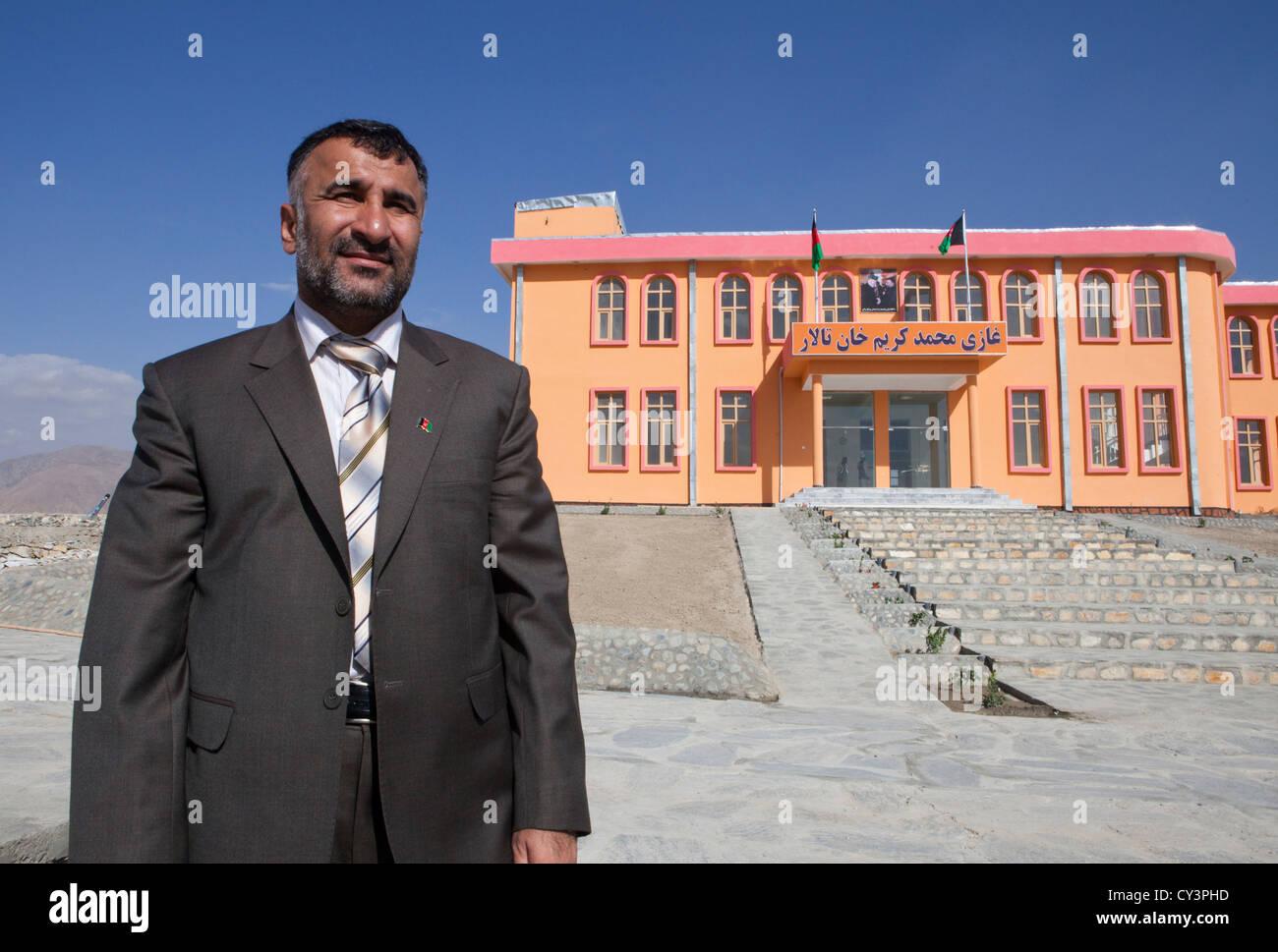 Ex-governor of Maidan, Wardak province, afghanistan - Stock Image