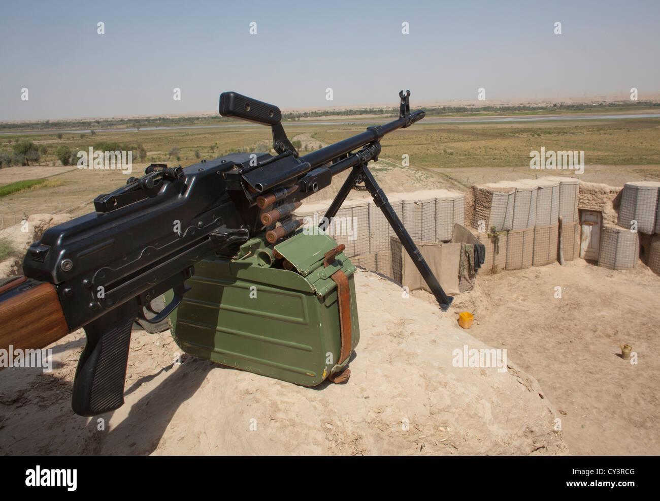 Estimated 10.000 Arbaki fighters(warlords) in Kunduz province. - Stock Image