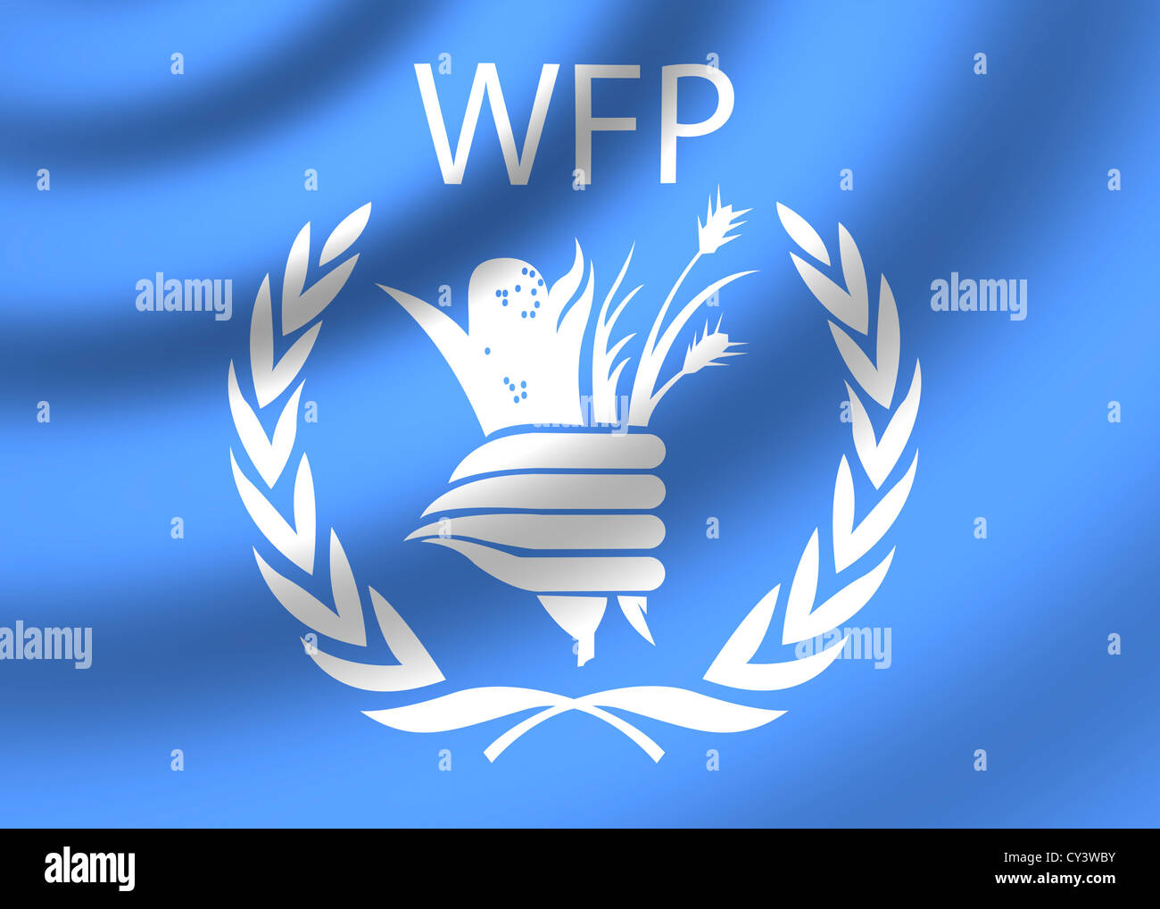 Wfp World Food Programme Logo Flag Symbol Icon Stock Photo Alamy