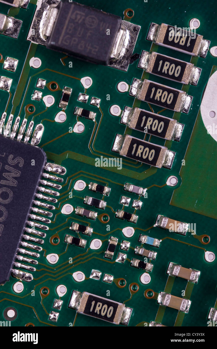 Printed Circuit Board Pcb Stock Photos 13 Royalty Free Image Mounted Electronic With Components